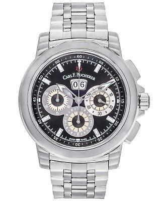 Carl F. Bucherer Patravi ChronoDate 44.6MM Men's Watch - 00.10624.08.33.21