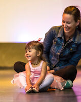 DANCE CLASSES FOR 18 MONTHS TO 2 1/2 YEARS