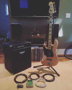 New left hand fender squier, New bass big muff in box, and more!