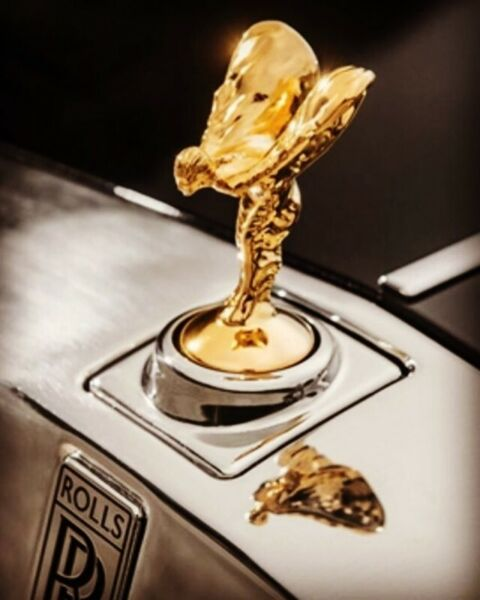 gold plating for luxury cars