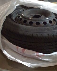 $50 MICHELIN 4-Season Tire with HONDA Rim (used: very good)