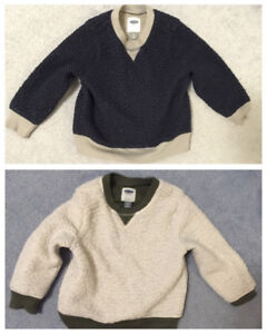 $12 both Boys 4T & 5T  thick winter top - both used !