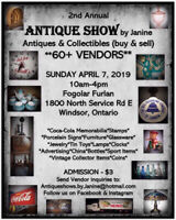 2nd Annual ANTIQUE SHOW by Janine