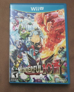 The Wonderful 101 Nintendo Wii U game, played only once