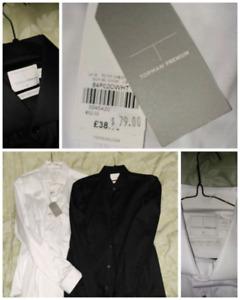 Topman premium dress stretch shirts