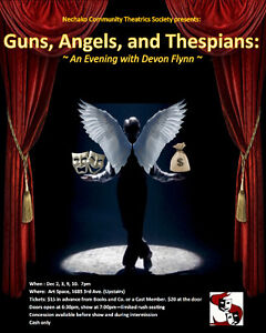 Guns, Angels and Thespians: An Evening with Devon Flynn Prince George British Columbia image 1