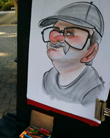 Live Caricatures with Caricature Dani