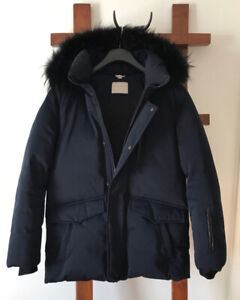Soia & Kyo Down filled Navy Winter Coat size M