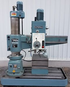 Perceuse radiale à colonne Supermax SRD 1000 radial drill