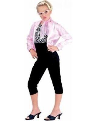 Mädchen Kind 50s Favorites Rosa Dame Pudel Mädchen - Rosa Damen Kostüm Kind