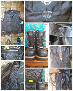 Men's Riding Leathers and HD® Boots