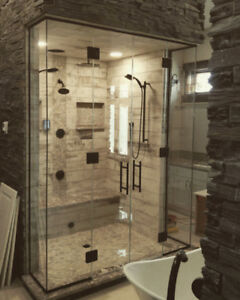 Shower doors 10 mm frameless for less