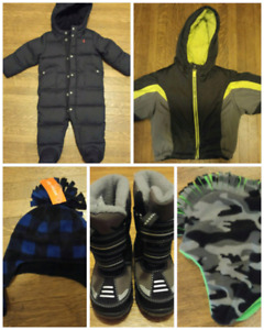 Baby and Toddler clothes/winter/items