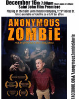 Anonymous Zombie Saint John Film screening