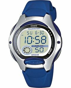 CASIO Kinderuhr,Uhr, Fun Timer LW-200-2AVEF in blau NEU/OVP,Jugenduhr