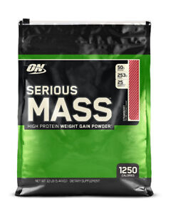 ON SERIOUS MASS 12LBS - WEIGHT GAINER - PROTEINE GAIN DE MASSE -