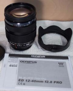 Objectif Olympus M.Zuiko Digital ED 12-40mm 1:2.8 PRO lens