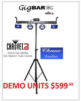 Chauvet GigBar IRC Demo Unit Limited Quantities - Buy Yours Now!