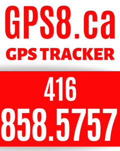 GPS8.ca **** Call 416 858 5757 REAL-TIME GPS TRACKERS
