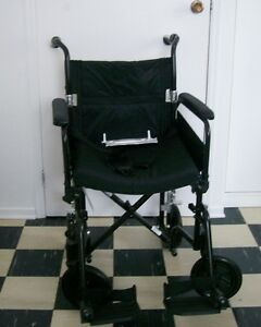 AIRGO Foldable Wheelchair and 2 Wheeled Folding Walker