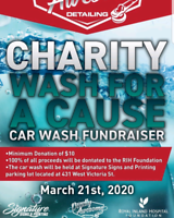 DEADLY AWESOME WASH FOR A CAUSE