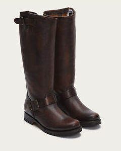 2 pairs of FRYE Veronica slouch boots - black and brown - size 8 Cambridge Kitchener Area image 2