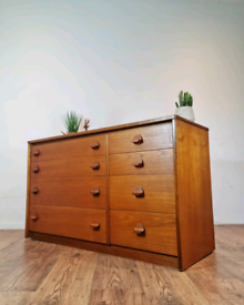 💥SOLD💥Vintage Retro Mid Century Chest of drawers Sideboard by Stag