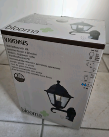 Wall latern with PIR - exterior lights