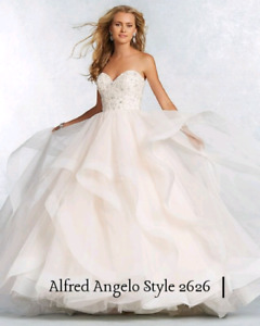 Size 12 | unaltered | Alfred Angelo | wedding dress| 1000 OBO