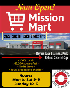 Massive Charity Thrift Store Now Open!