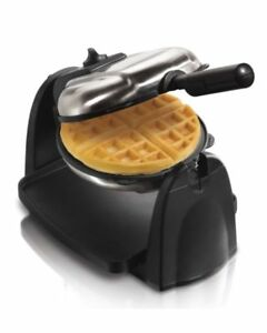 Flip Belgian Waffle Maker Removable Plates Browning Control