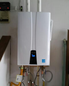 Tankless Hot Water Heaters - Instantaneous Hot Water Heaters
