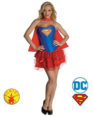 RD 880558 Ladies Costume Fancy DC Comics Licensed Supergirl Superwoman Hero Tutu - Superwoman Tutu
