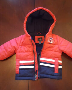 Toddler winter jacket and shoes