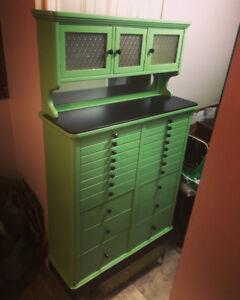 Antique medical/dental cabinet
