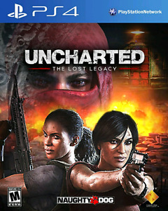 UNCHARTED THE LOST LEGACY- PS4 *BRAND NEW SEALED*