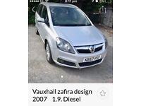 57 Vauxhall zafira 1.9cdti