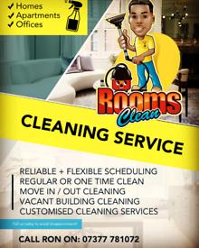 Rooms Clean ⭐⭐⭐⭐⭐
