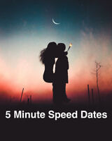 Speed Dating Event for Singles (Ages 25-40) $20 Free drink incl.