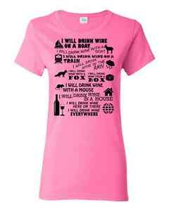 I WILL DRINK WINE T-Shirt Downtown-West End Greater Vancouver Area image 4