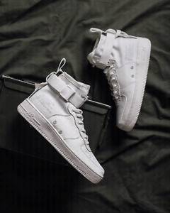 "Brand new Nike SF Air Force 1 Mid ""Triple Ivory"""