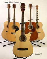 For beginners acoustic guitar brand new Natural iMusic11