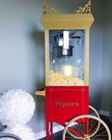 VINTAGE POPCORN MACHINE - Fresh Party Snacks