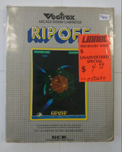 Vectrex Rip Off with Color Overlay