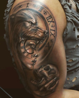 Promotion! Realism style  Tattoo, Portraits, Art, Painting