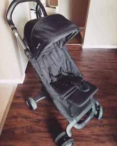Nuna Pepp Stroller in Night w/ Car Seat Adapter