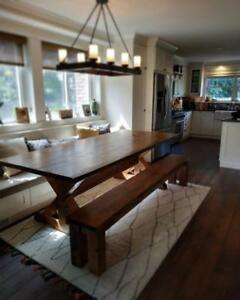 Custom made Harvest tables -Ontario wide-