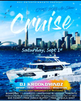 LABOUR DAY WEEKEND BOAT CRUISE!!