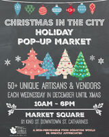 Artisans & Vendors Wanted For Holiday Pop Up Market