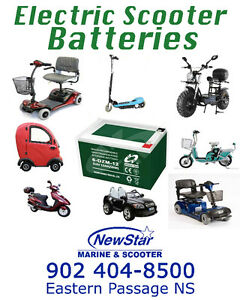 *BATTERIES* ELECTRIC SCOOTERS, E-BIKE, E-TOYS & GARDEN TOOLS